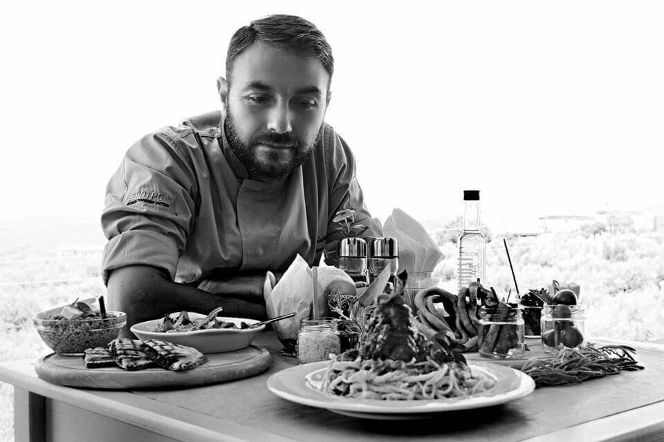 Ο Executive Chef Χρήστος Ξεροβάσιλας