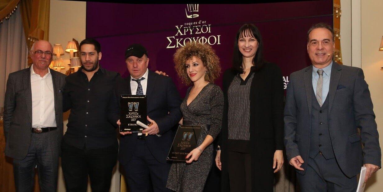 Οι μεγάλοι νικητές στα φετινά βραβεία των Χρυσών Σκούφων