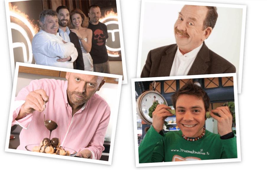 Χρονικό: Η μαγειρική στην ελληνική τηλεόραση (μέρος Β΄)