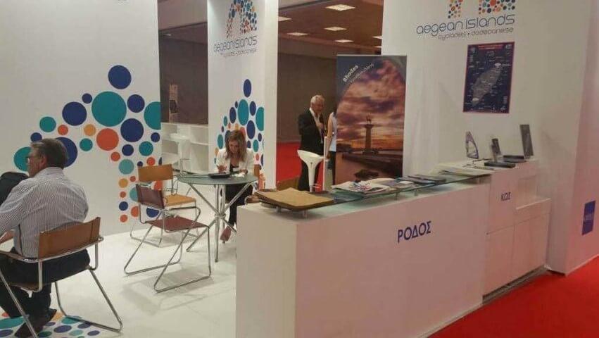 «Greek Travel Show» η έντονη παρουσία της Περιφέρειας Νοτίου Αιγαίου