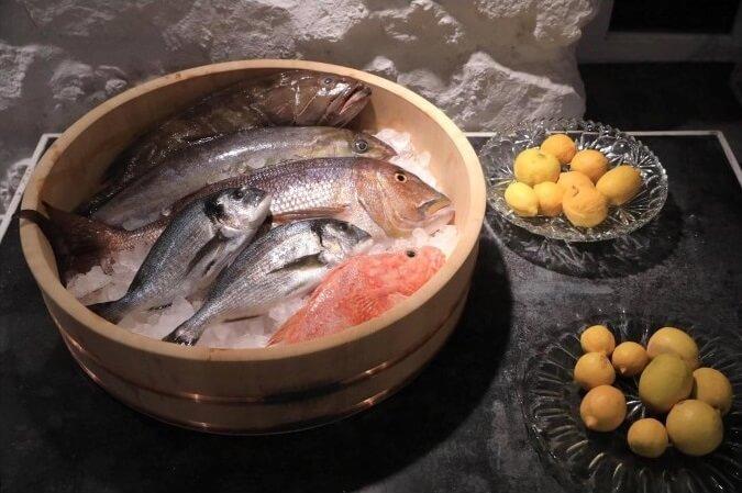 Blue Fish: Ταξίδι στις γεύσεις του Αιγαίου