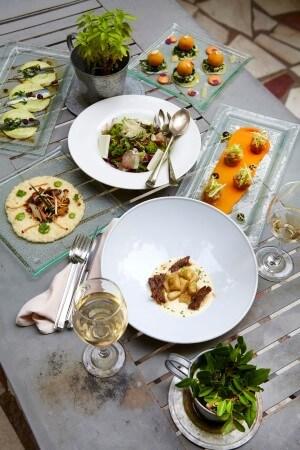 Τα εκλεκτά πιάτα του Aleria επιμελείται ο σεφ Γκίκας Ξενάκης