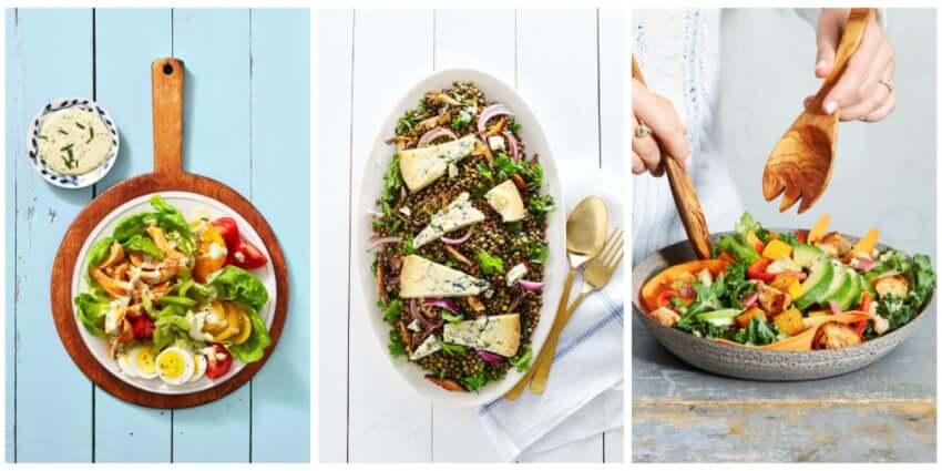 Μικρά μυστικά για μία υγιεινή σαλάτα