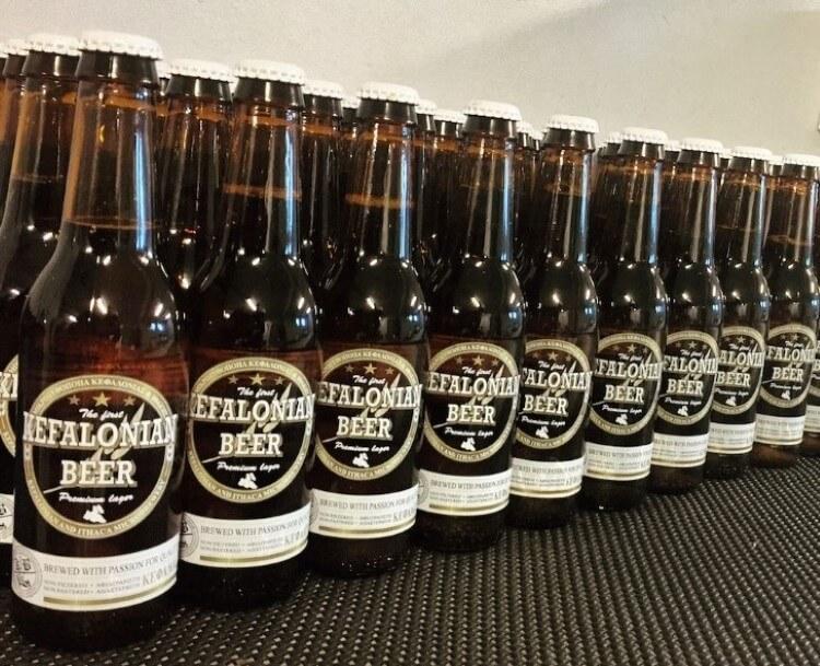 Η Kefalonian Beer δεν έχει καμιά θερμική επεξεργασία.