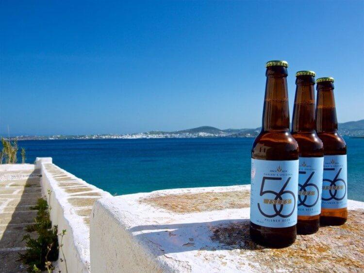 Από το 2016 η Πάρος έχει τη δική της μπύρα και ακούει στο όνομα 56 Isles.