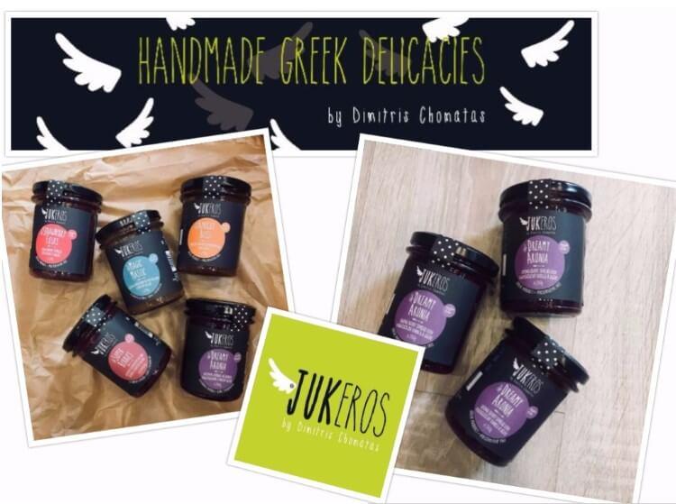 Νέα σειρά προϊόντων χαμηλού γλυκαιμικού δείκτη από την εταιρεία Jukeros by Dimitris Chomatas