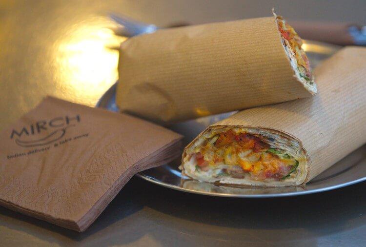 Το Mirch είναι ένα Ινδικό take away και delivery street food