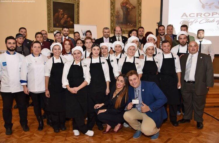 Με μεγάλη επιτυχία πραγματοποιήθηκαν τα «Gastronomy Acropolis Awards» στην Αίθουσα Τελετών της Λέσχης Αξιωματικών Ενόπλων Δυνάμεων Αθήνας.