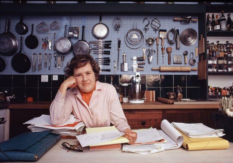 Η αγάπη της Julia Child για την γαλλική κουζίνα την έκανε γνωστή σε όλο τον κόσμο