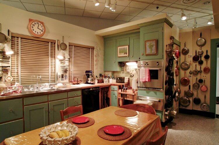Η διάσημη κουζίνα της Julia Child στο Smithsonian National Museum of American History.