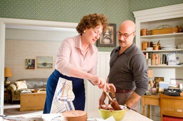 Η Meryl Streep ως Julia Child και ο Stanley Tucci ως Paul Child στην ταινία Julie & Julia.