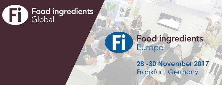 Διεθνής έκθεση Food Ingredients Europe 2017 στην Φρανκφούρτη