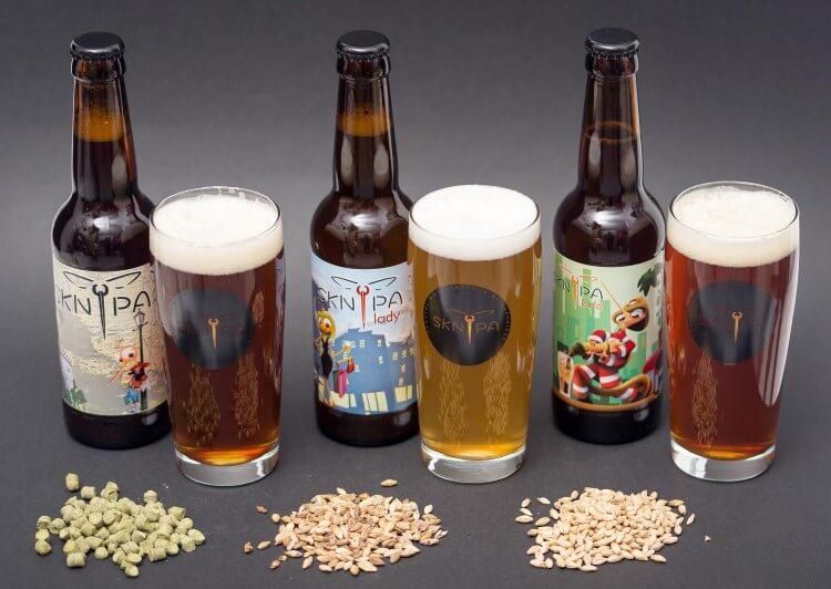 Μία διαφορετική μπύρα, η Sknipa με καθαρά ελληνικό χαρακτήρα και επιλεγμένες πρώτες ύλες.