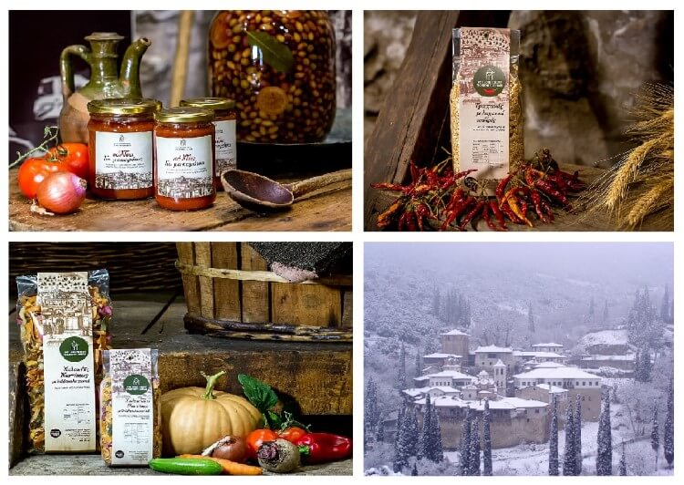 Ιερά Μονή Τιμίου Προδρόμου Σερρών: Κορυφαία μοναστηριακά προϊόντα