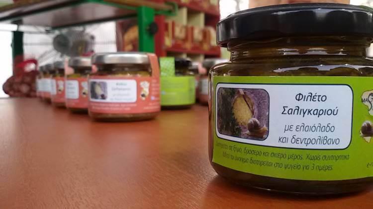 Mastic Snails: Σαλιγκάρια με άρωμα μαστίχας!