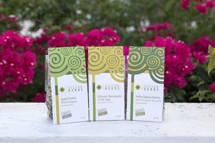 Τα φυσικά βότανα της Aegean Herbs