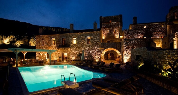 Ξενοδοχείο Κυρίμαι στη Μάνη
