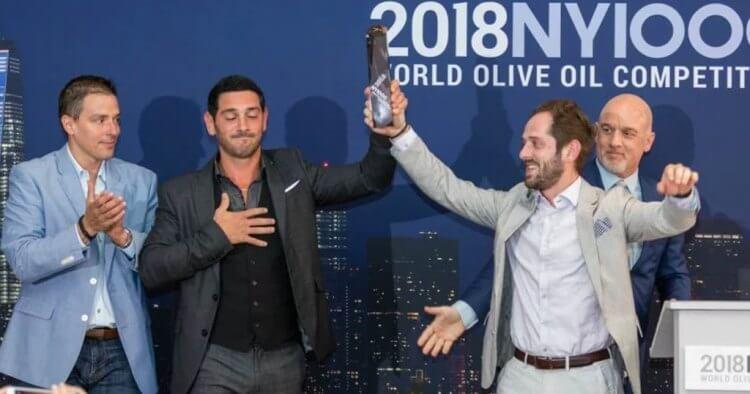 Διεθνή Διαγωνισμό Ελαιολάδου της Νέας Υόρκης