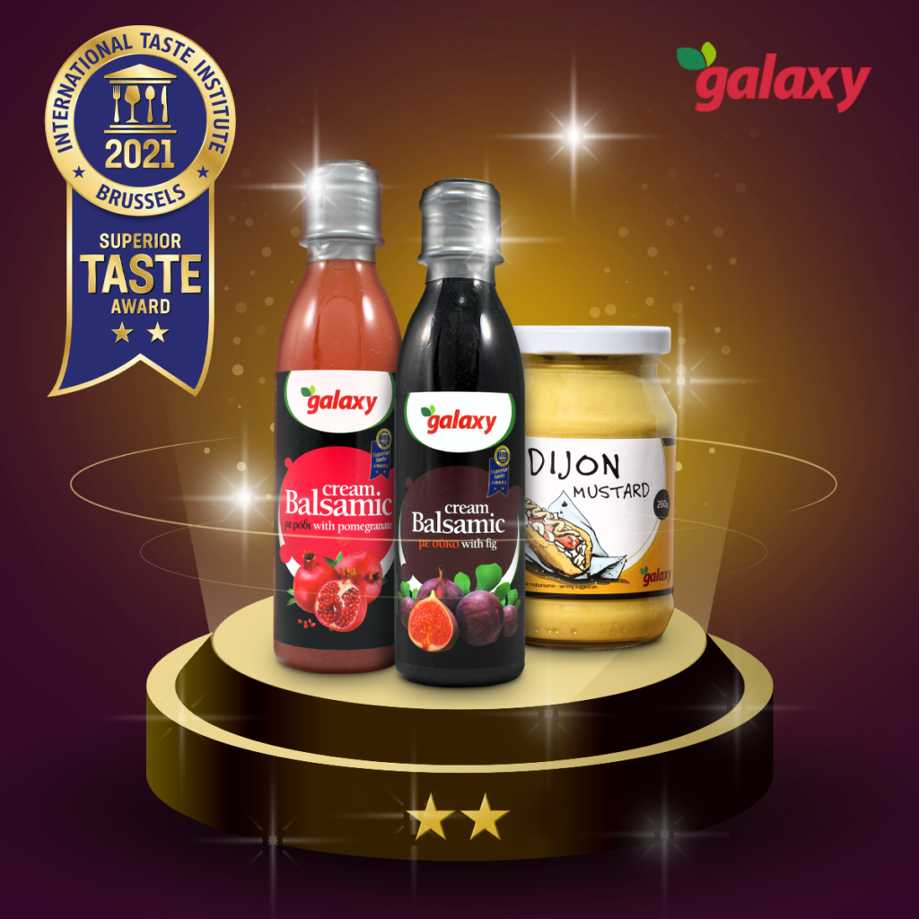 Vinegar products from Galaxy