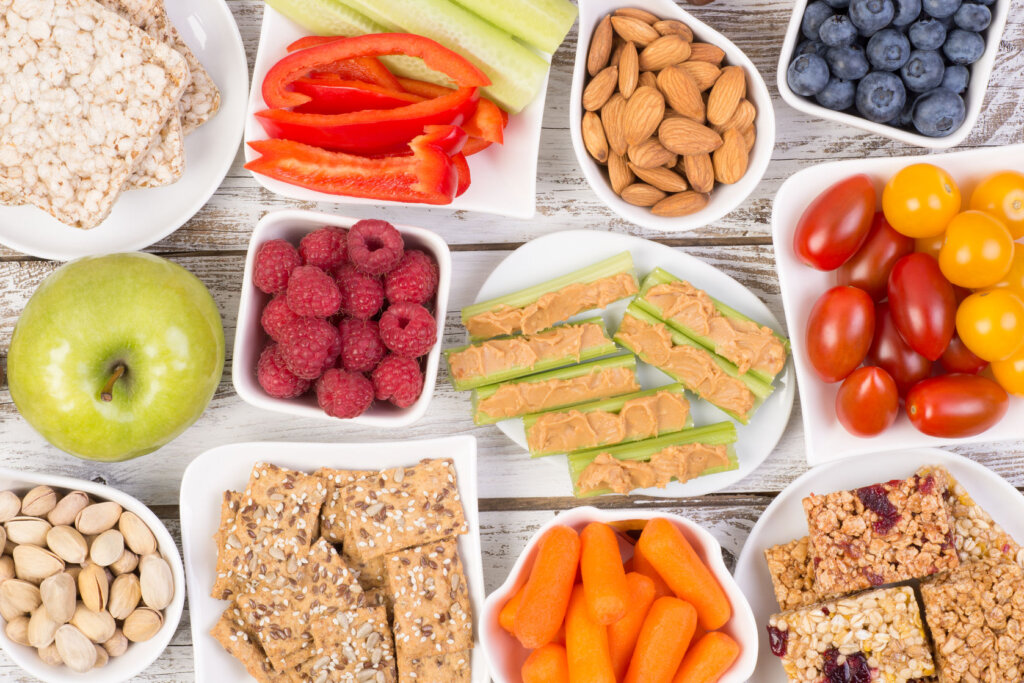 Healthy snacks are chosen by the consumers of the future