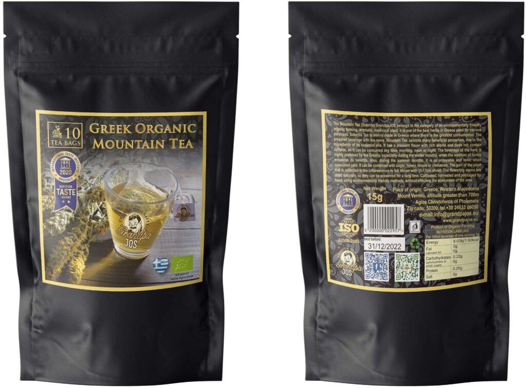 Βιολογικό τσάι Grandpa Jos