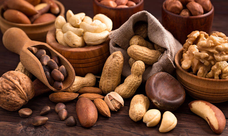 Nuts are at the top of the list of the top 20 private label products