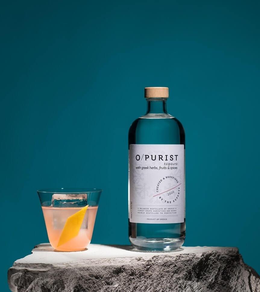 O / purist: the premium tsipouro of the international bar scene