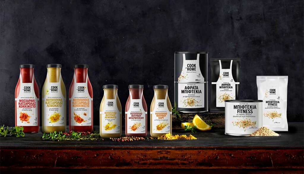 """New line of sauces """"COOK AT HOME"""""""