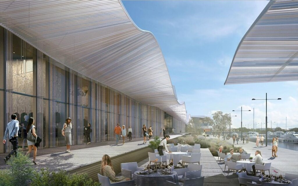 Eλληνικό: Με πολλά εστιατόρια και γαστρονομικές προτάσεις η Marina Galleria