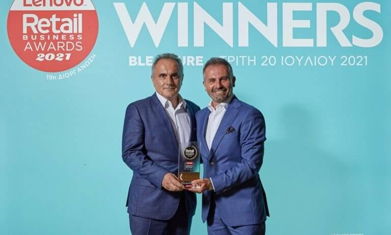 Supplier of the Year is E.I. PAPADOPOULOS SA