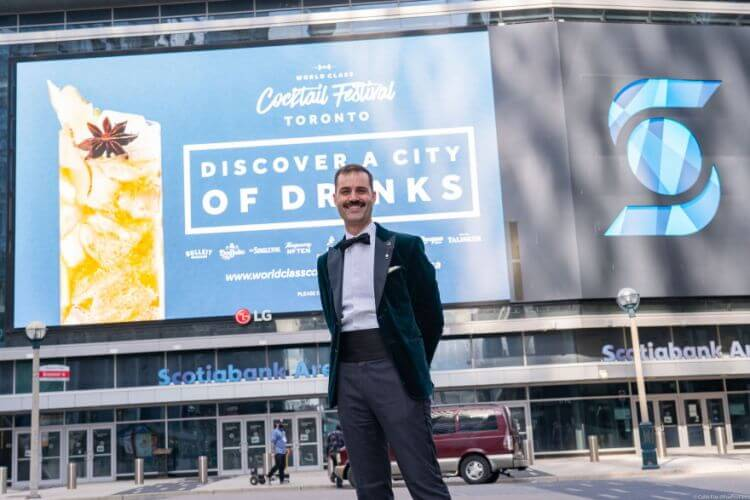 Ο James Grant απο τον Καναδά, ο καλύτερος Bartender στον κόσμο για το 2021