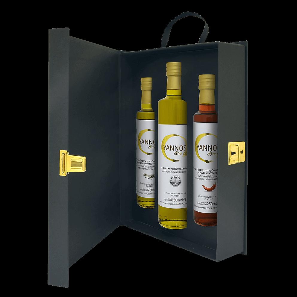 Κασετίνα δώρου από την Yannos olive oil