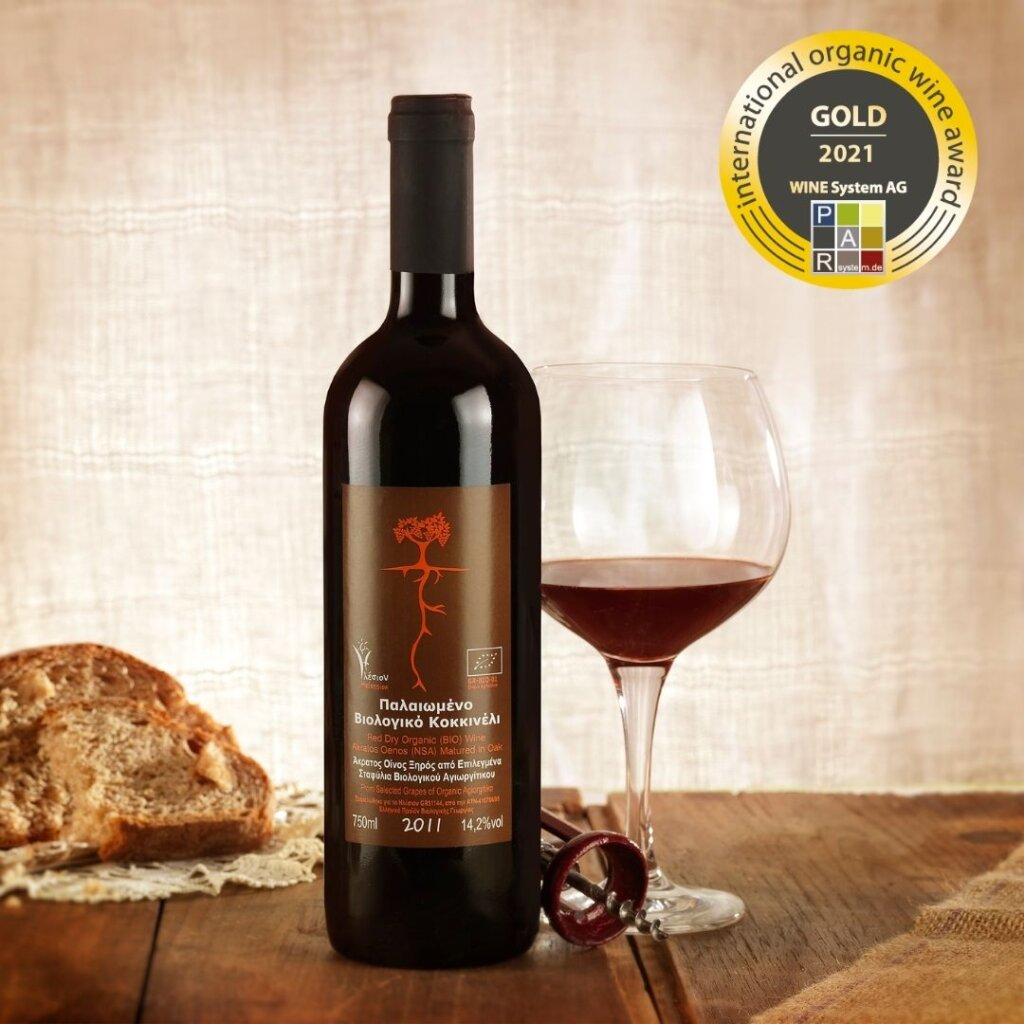 Organic Wine Award International 2021: Χρυσό στον Ηλέσιον