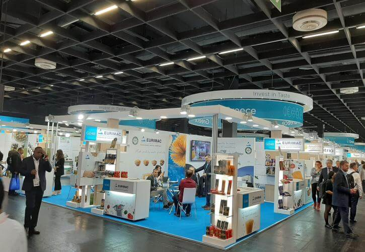 Δυναμική παρουσία ελληνικών εξαγωγικών επιχειρήσεων στην Anuga